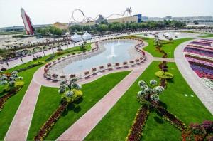 """""""Чудо сад"""" в Дубай"""